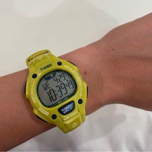 IRON MAN Timex Watch (lime green & blue)